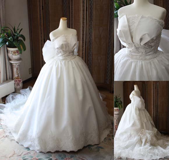 ウェディングドレス シルク オーダーメイド販売。北海道札幌市の花嫁ドレス
