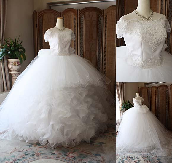 2WAYウェディングドレス オーダーメイド販売 北海道帯広市の花嫁